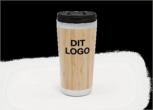 EcoSip - Bamboo Travel Mugs Personalised