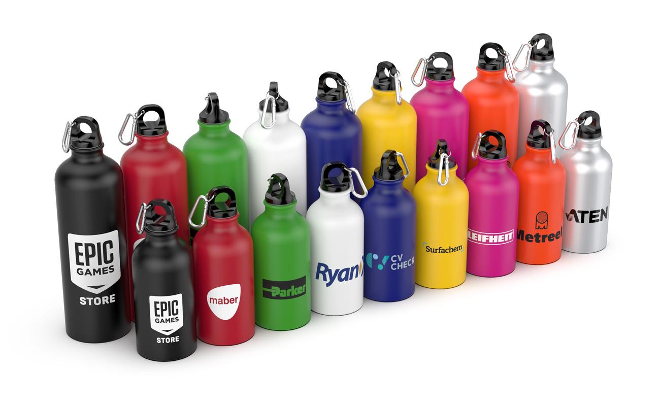 Vita - Speciallavet Vand flasker med logo